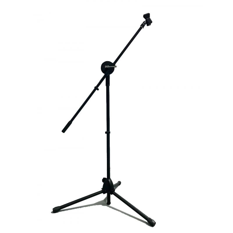 pie microfono reforzado
